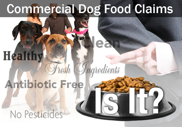 Commercial Dog Food Claims