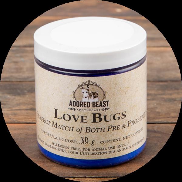 Adored Beast Love Bugs, 80g