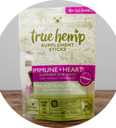 True Hemp Immune + Heart Supplement Sticks