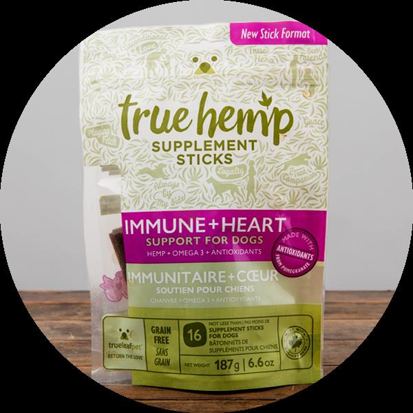 True Hemp Immune + Heart Supplement Sticks