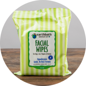 Earthbath Facial Wipes, 25 wipes