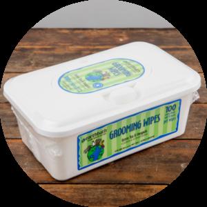 Earthbath Green Tea and Awapuhi Grooming Wipes, 100 count