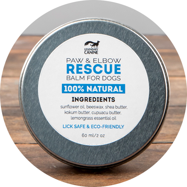 Legendary Canine Paw and Elbow Rescue Balm, 60ml