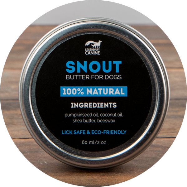 Legendary Canine Snout Butter for Dogs, 60ml