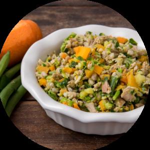 Low Fat, Low Protein Turkey Dinner