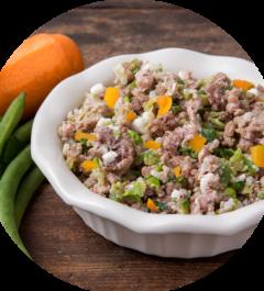 Low Fat, Low Protein Venison Dinner