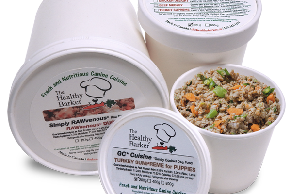The Healthy Barker Food Containers