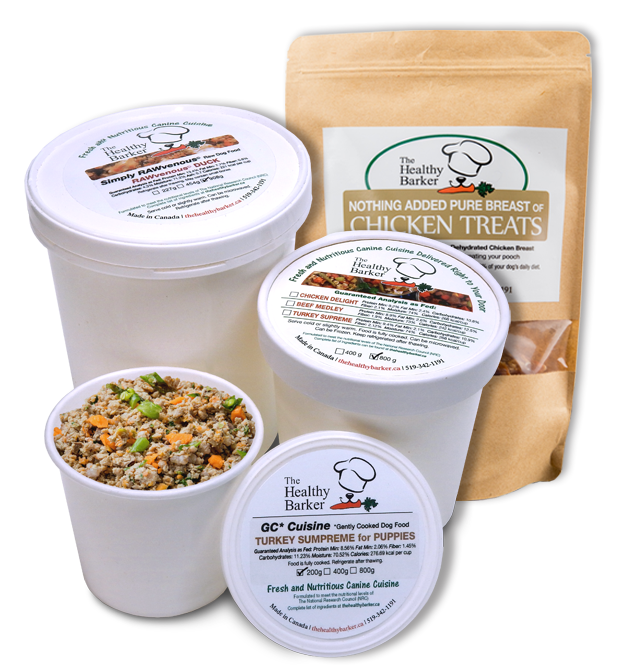 The Healthy Barker Food and Treat Packaging